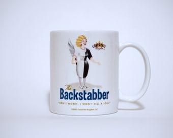 Backstabber Mug by Corporate Kingdom