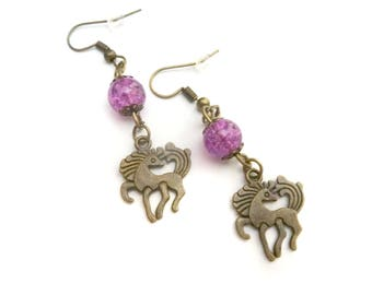 Pony earrings