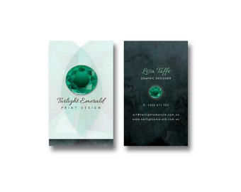 1000 BUSINESS CARDS Designed, Printed and Delivered! - Brand New Custom Business Card Design Created Just For You -  - Free Shipping!