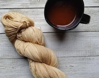 Ready to Ship: Java Sock Yarn |Naturally Dyed