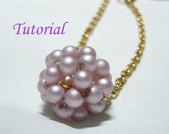 Beading Tutorial - Beaded Ball Pattern