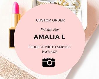 Amalia L. Custom Professional Product Photographer for 3 items