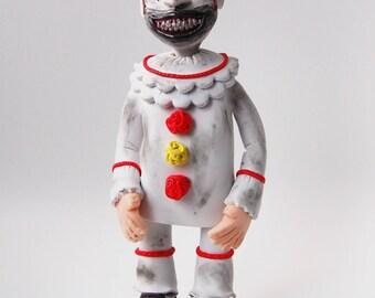 Twisty the Clown Polymer Portrait   American Horror Story Freakshow