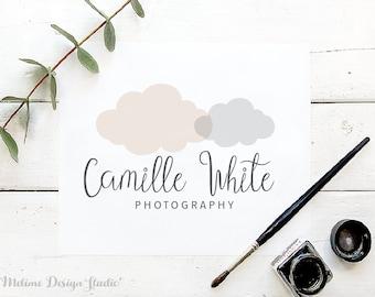 Customized Logo Design, Premade Logo, Cloud Logo Design for your Business, Kids Boutique Pre made and Personalized logos (21-LOGO)