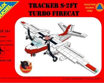 Conair TRACKER S - 2 FT TURBO FIRECAT - emergency water bomber - Lego®