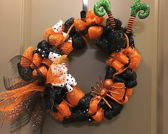Handmade Halloween Wreath
