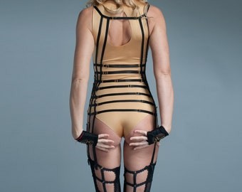 Seamed Stockings - Thigh Highs - Thigh High Garter