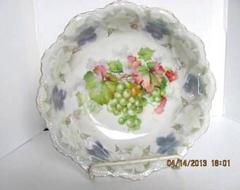 Porcelain Bowl by C.A. Lehmann & Sons in Leuchtenburg, Germany