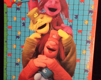 Vintage 1995 NEW & SEALED Large 35pc Muppets Puzzle, The Puzzle Place