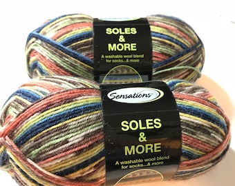 Sock Yarn -- Soles and More by Sensations