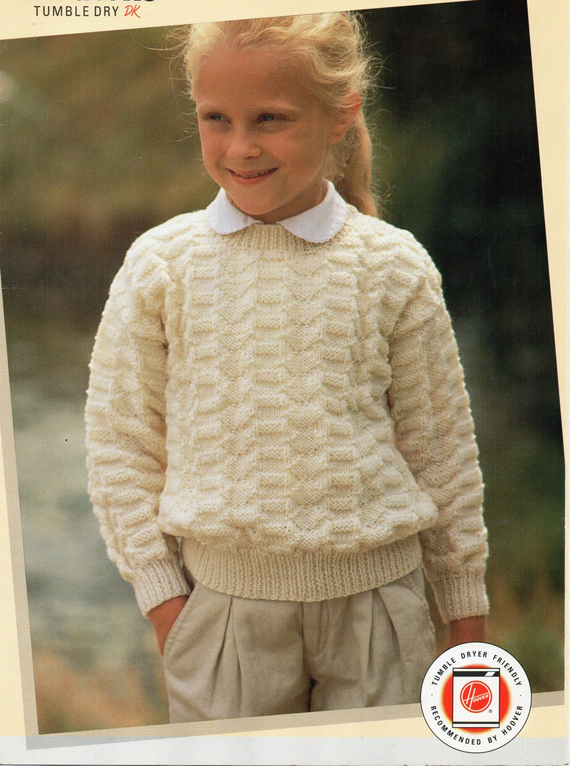 baby toddler childrens sweater knitting pattern crew neck
