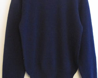 70's Youngbloods Dark Blue Long Sleeve Sweater
