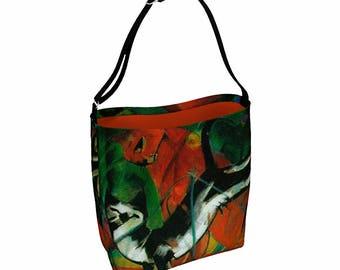 Cat Lover Tote Bag - Bum Bag - Cat Tote Bag - Everyday Bag - Woman Messenger Bag - Waist Bag - Crossbody Bag - Canvas Messenger Bag