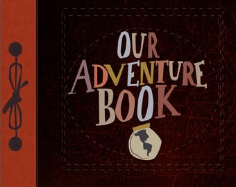 our adventure book with texture.. digital download up 8.5.x11...