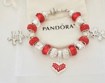 You are my missing piece  you make me whole - Authentic Jared Pandora bracelet