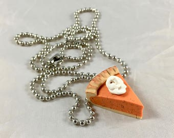 Pumpkin Pie Necklace