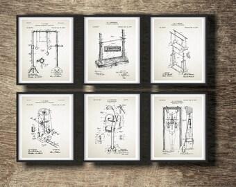 Gymnastics Poster, Gymnast Gift, Gift for Gymnast, Gymnastics Gift Idea, Gymnast Wall Decor,Gymnastics Set of 6 Prints INSTANT DOWNLOAD