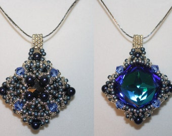"""Tutorial for Double sided Pendant """"Lost Treasure"""""""