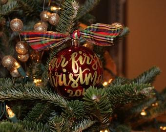 Customizable Christmas Ornaments