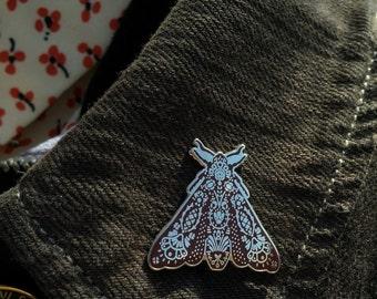 Moth Lapel Pin