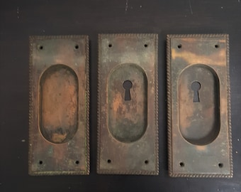 Rope Antique Pocket Door Pulls 530704