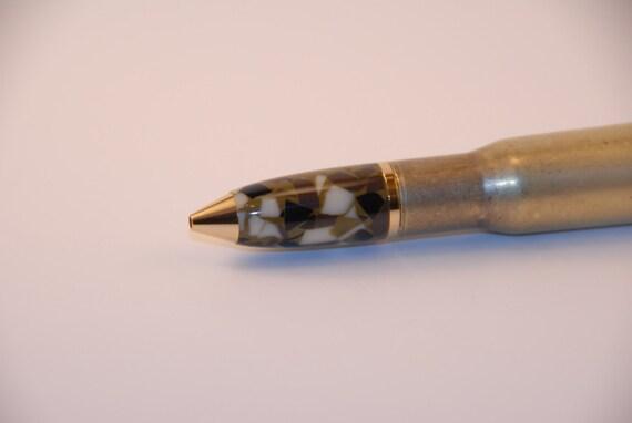 50 Caliber BMG Cartridge Bullet Pen, Bottle Opener Optional