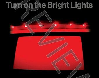 Tshirt - Interpol: 'Turn on the Bright Lights' (2002)