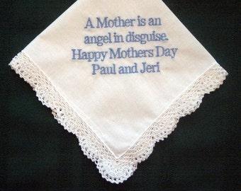 Mothers Day Handkerchief, hankie, hanky