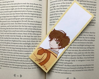 Code Geass Anime Bookmark - Suzaku Kururugi
