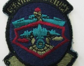 Servitium Infinitum 93D FMS,  USAF Patch