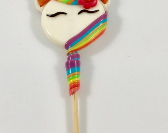 Candy Lollipops Unicorns (Pack of 3)