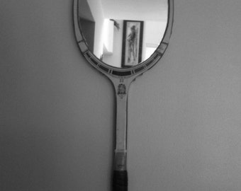 AUTHENTIC VINTAGE WOODEN rackets mirrors !  Tennis   includes shipping costs