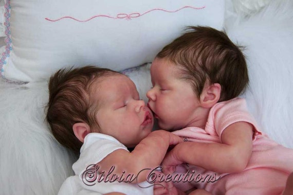 Custom Set Twins A Amp B By Bonnie Brown 17 Inches 3 4 Limbs