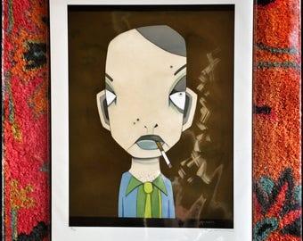 Ash (Giclee Print)