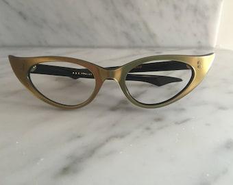 unused vintage cat eye eyeglasses