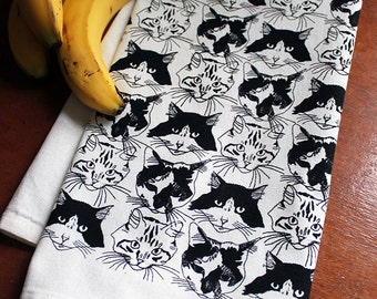 Catmouflage Kitchen Towel