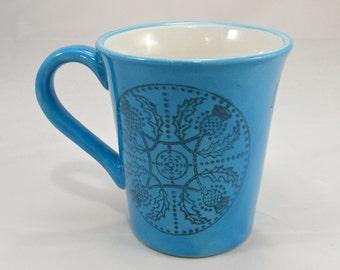 celtic Mug handmade Tea mug coffee mug beer mug  Food safe Lead free Glaze