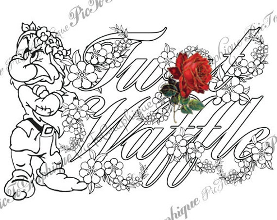 tedi twt coloring pages - photo#15