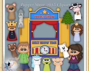 Puppet Show Clipart 2015
