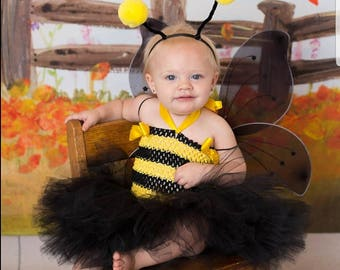 Bumble Bee Costume Bee Tutu Costume Bumble Bee Tutu Bug Costume Halloween Costume Halloween Tutu Baby Costume Girls tutu costume  sc 1 st  Etsy & Bee costume | Etsy