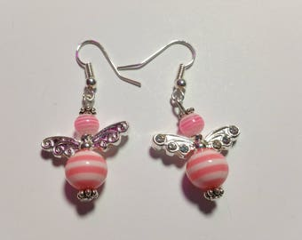 "Earrings ""Candy-Angels Pink 1"""