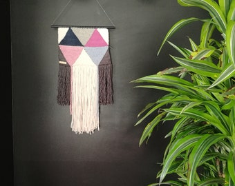 Handwoven Weaving Tapestry Wall Art   Home Decoration   Nursery Baby Shower Gift