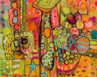 CIRQUEY Giraffe Jennifer Mercede print