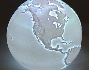 3D Printed Earth Light