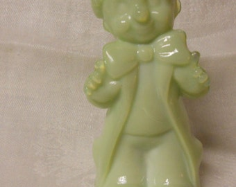 "Boyd Glass - ""Chuckles"" the clown - Seafoam green"