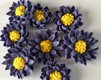 Button Flowers - Royal Icing
