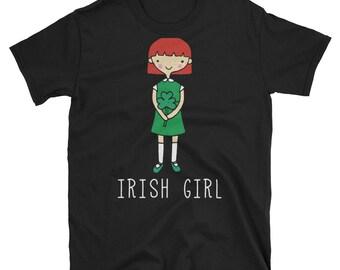 irish girl, irish shirt, irish gift, irish girl design, girl