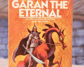 Paperback  Garan the Eternal by Andre Norton 1973 Daw Books Epic Adventure of Time and the Stars