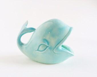 Whale Ring Holder - Mint Ceramics - Ring Dish