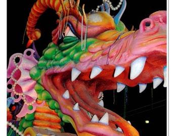 Dragon Photograph - Mardi Gras